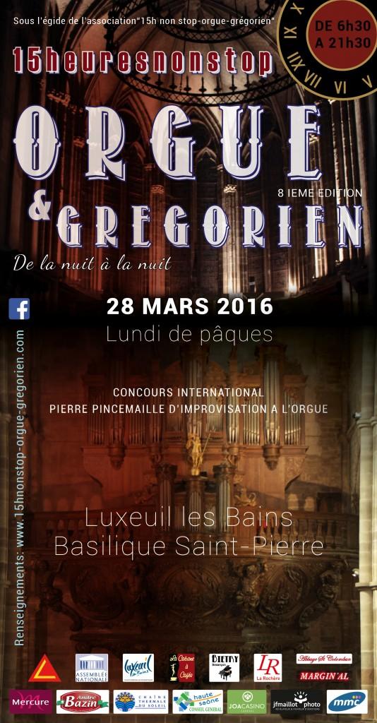 15heuresnonstop paques easter orgue organ luxeuil les bains basilique saint-pierre